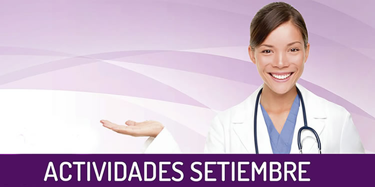 INVITACIÓN DE NUESTRAS CHARLAS DE SETIEMBRE