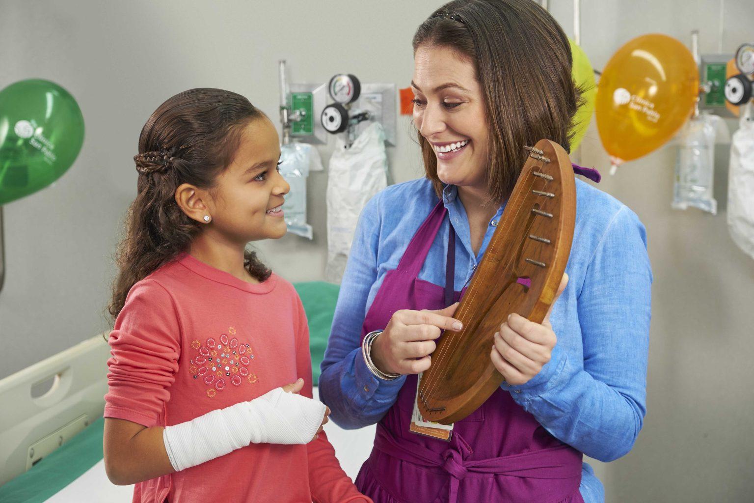 """""""Child Life Service"""": apoyo emocional a los pequeños pacientes"""